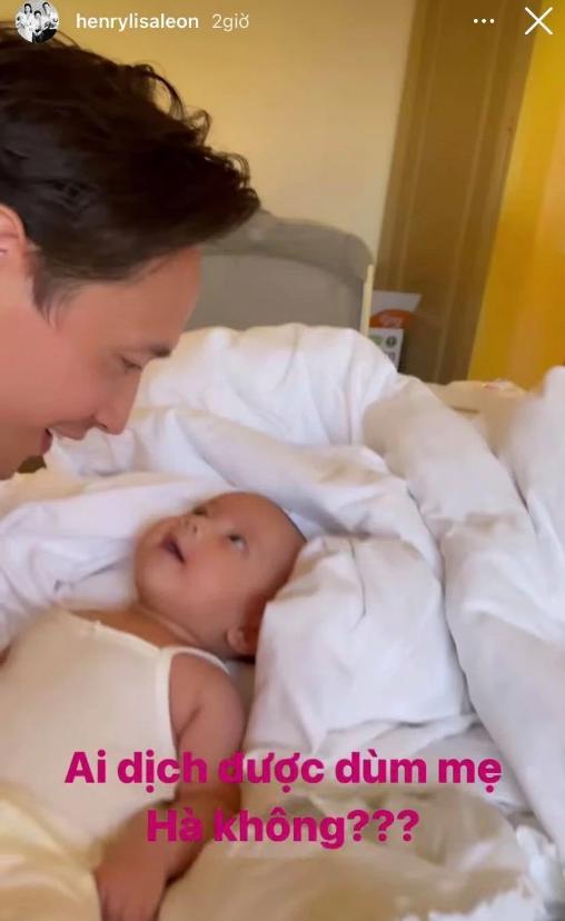 Hồ Ngọc Hà ấm lòng khi thấy cảnh tượng hai cha con Kim Lý và Lisa qua camera - Ảnh 3.