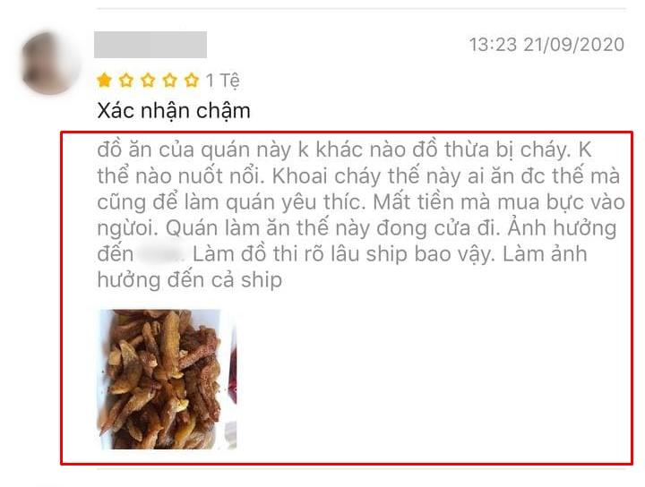 """Quán bánh mì nem khoai nổi tiếng Hà Nội bị tố chế biến bẩn, khách đánh giá 1 sao tới tấp vì """"khoai cũ, cháy khét, mất vệ sinh"""" nhưng chủ quán phản bác đầy bất ngờ - Ảnh 4."""