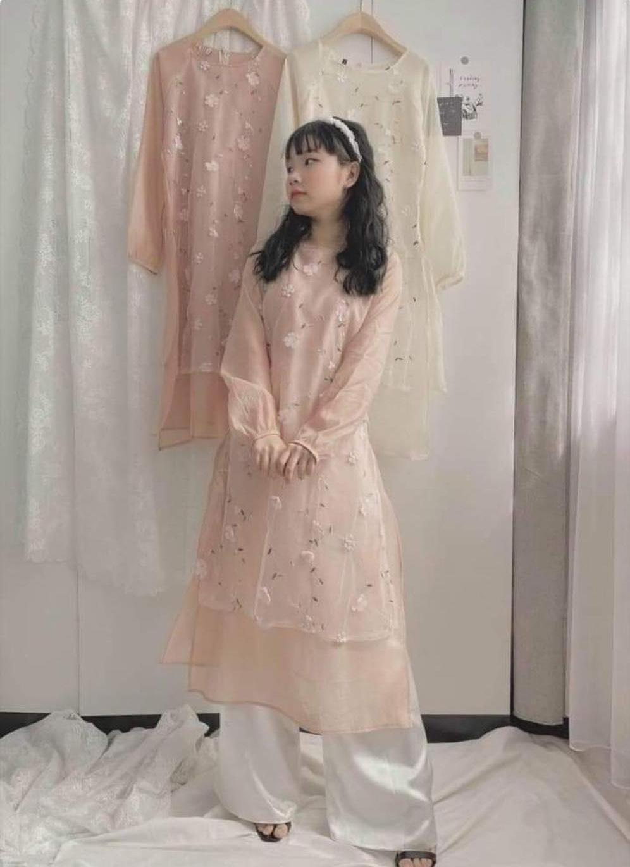 """Tôi đặt mua áo dài diện Tết giá 310k, hình mẫu khác xa với hàng nhận được nhưng bức xúc nhất là câu nói """"xanh rờn"""" của shop - Ảnh 2."""