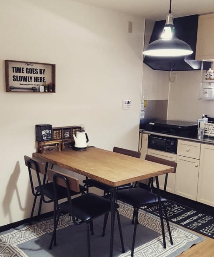 Cách bố trí bàn ăn giúp những căn bếp nhỏ trở nên rộng rãi bất ngờ - Ảnh 1.