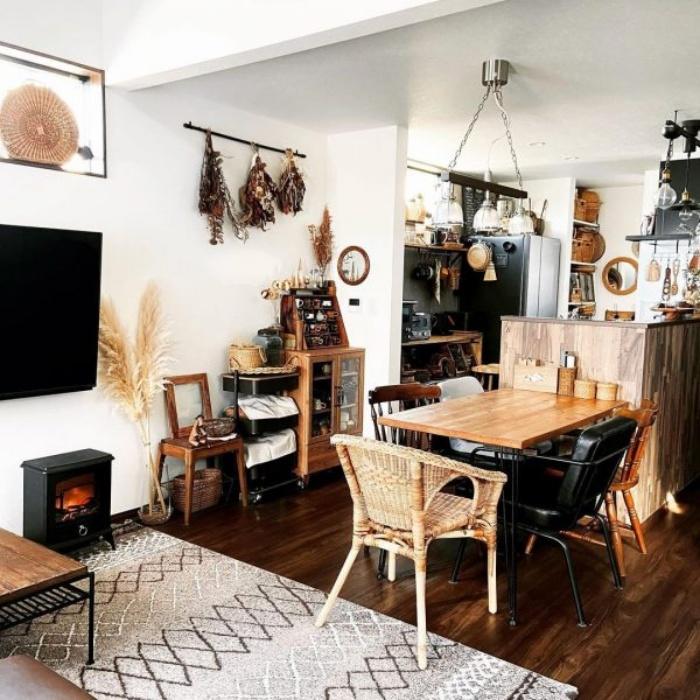 Cách bố trí bàn ăn giúp những căn bếp nhỏ trở nên rộng rãi bất ngờ - Ảnh 7.