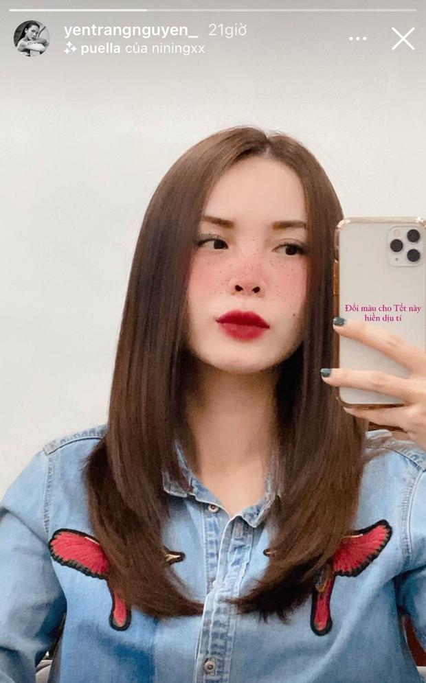 Sao Việt làm tóc đón Tết: Châu Bùi cắt tóc bob nhìn là muốn bắt chước, H'Hen Niê khoe visual siêu mới mẻ - Ảnh 5.