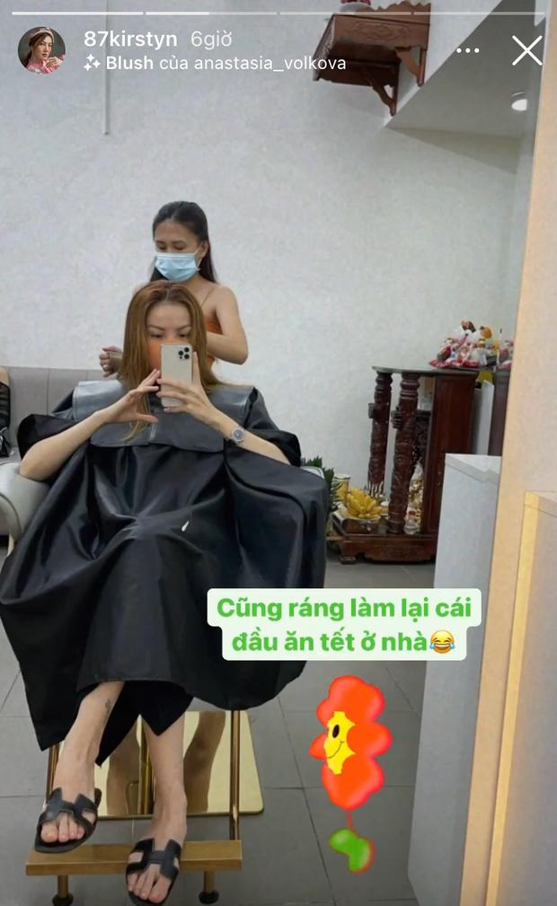 Sao Việt làm tóc đón Tết: Châu Bùi cắt tóc bob nhìn là muốn bắt chước, H'Hen Niê khoe visual siêu mới mẻ - Ảnh 6.