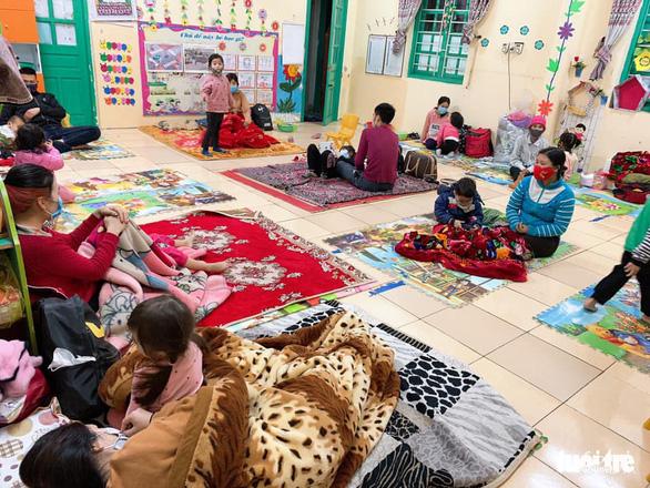 Những trường học trở thành khu cách ly tập trung - Ảnh 6.