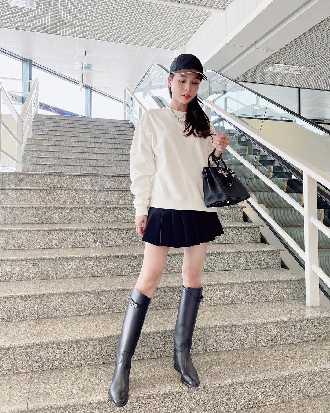 """Hội chị em thấp bé học ngay Sam loạt cách diện boots kéo chân """"ảo tung chảo"""", cao chứa tới 1m60 mà trông như 1m70 - Ảnh 2."""