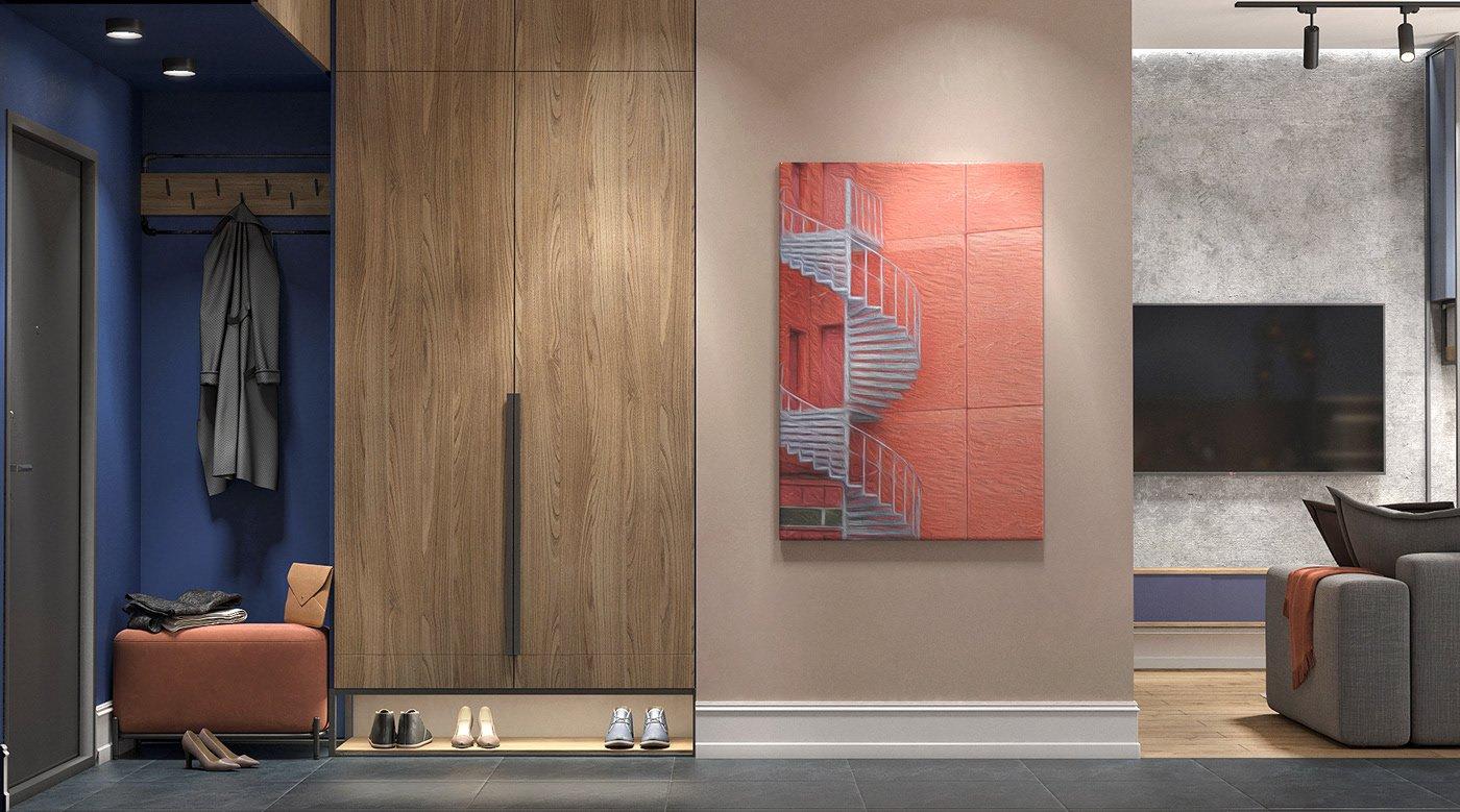 Kiến trúc sư tư vấn thiết kế căn hộ 64m² với chi phí 145 triệu đồng - Ảnh 3.