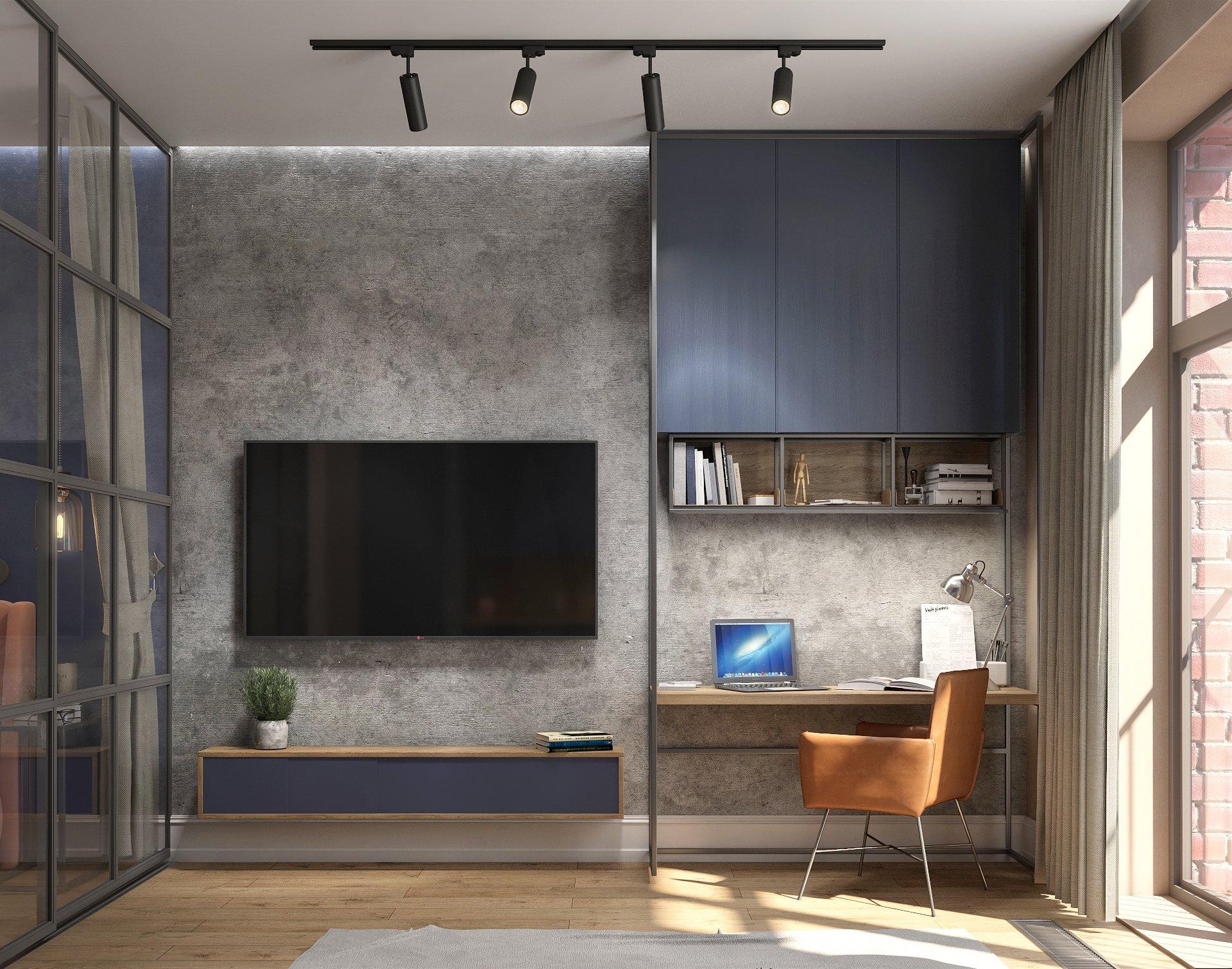 Kiến trúc sư tư vấn thiết kế căn hộ 64m² với chi phí 145 triệu đồng - Ảnh 4.