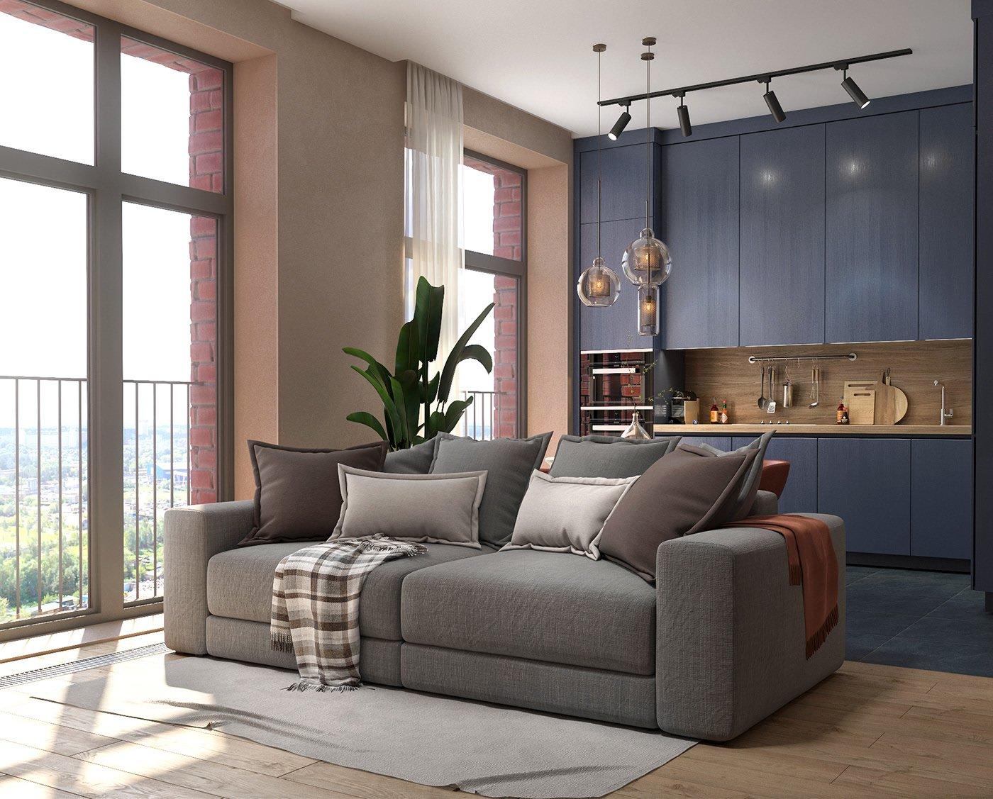 Kiến trúc sư tư vấn thiết kế căn hộ 64m² với chi phí 145 triệu đồng - Ảnh 5.