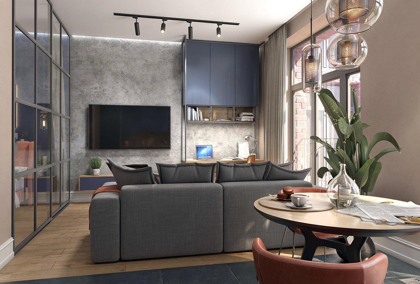 Kiến trúc sư tư vấn thiết kế căn hộ 64m² với chi phí 145 triệu đồng - Ảnh 6.