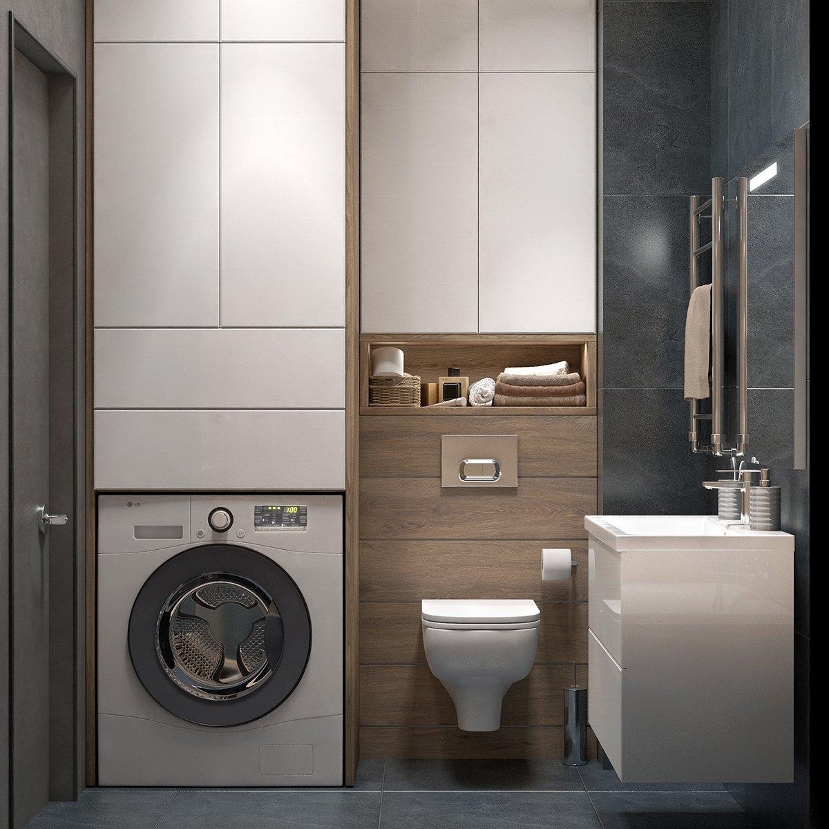 Kiến trúc sư tư vấn thiết kế căn hộ 64m² với chi phí 145 triệu đồng - Ảnh 10.
