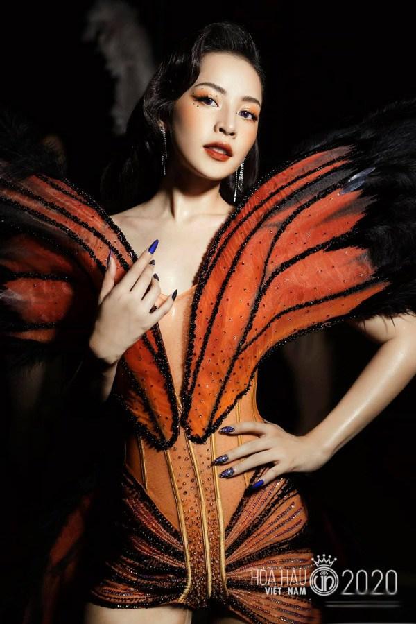 """Chi Pu từng bị chỉ trích vì đồ """"bướm đêm"""" nhạy cảm thì nay Phí Phương Anh cũng mặc tương tự - Ảnh 4."""