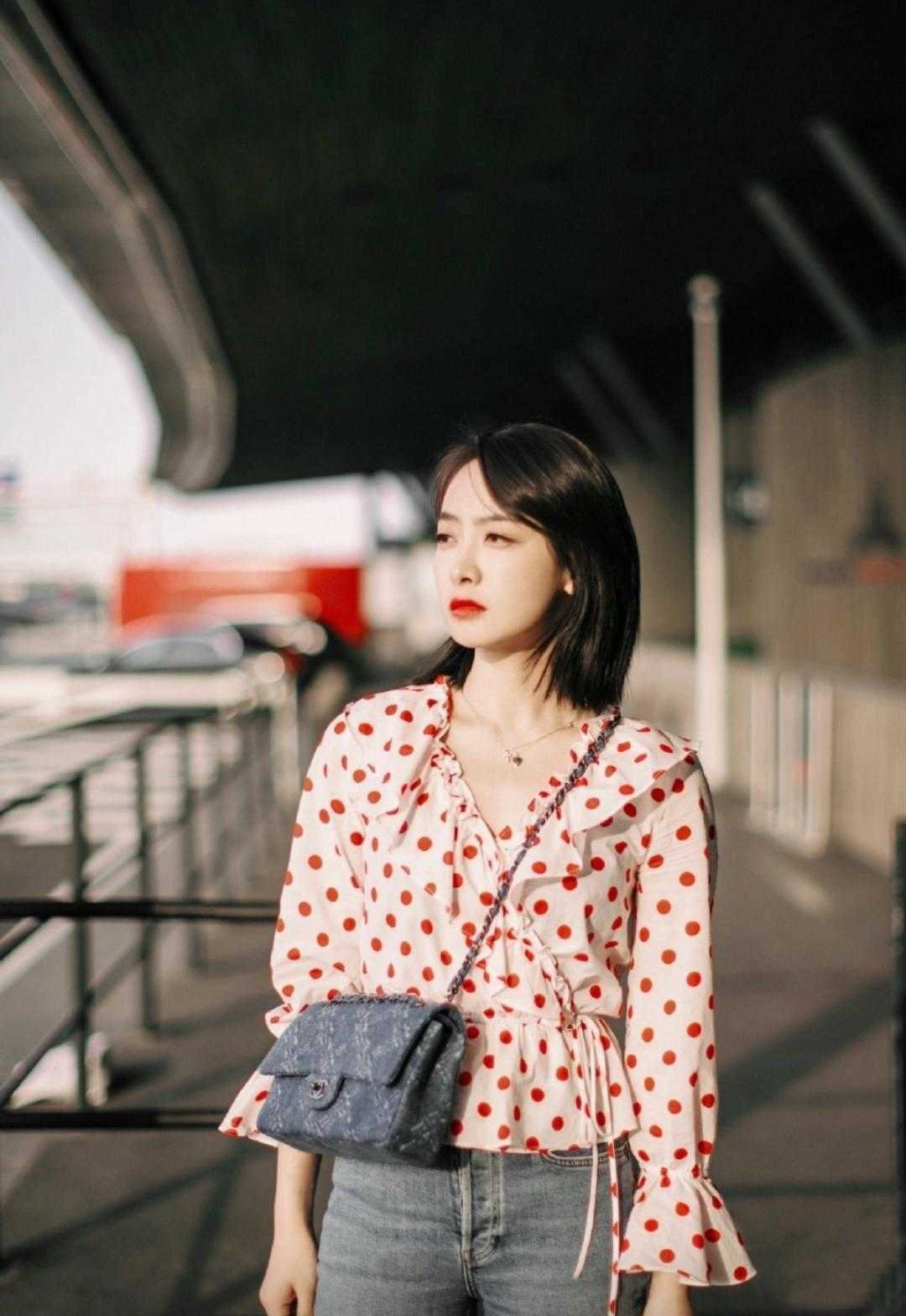 Style trẻ trung của Tống Thiến - Ảnh 11.