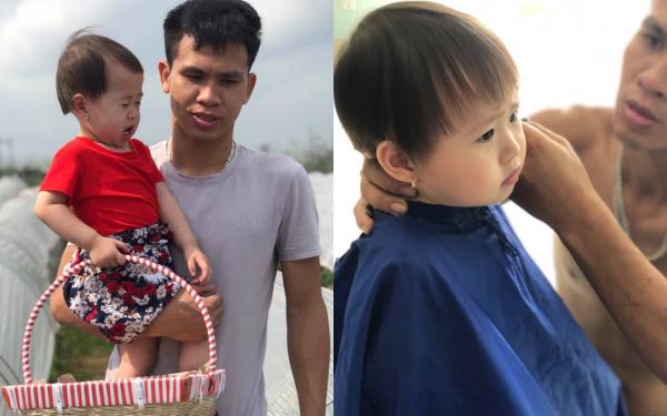 Những khoảnh khắc làm bố cực ngọt ngào và ấm áp của người hùng cứu bé gái rơi từ tầng 12 chung cư ở Hà Nội