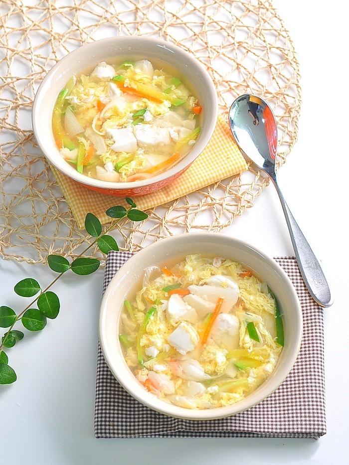 Món súp này ăn khuya hay ăn sáng đều cực đỉnh, nhẹ bụng lại giúp da dẻ căng mịn đẹp xinh - Ảnh 9.