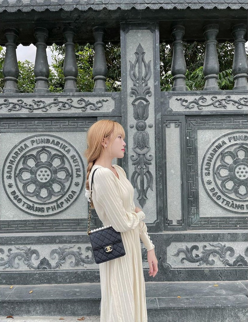 Chia tay Sơn Tùng, Thiều Bảo Trâm cũng cho luôn Prada vào lãnh cung, phủ kín tủ đồ bằng loạt Chanel xa hoa - Ảnh 5.