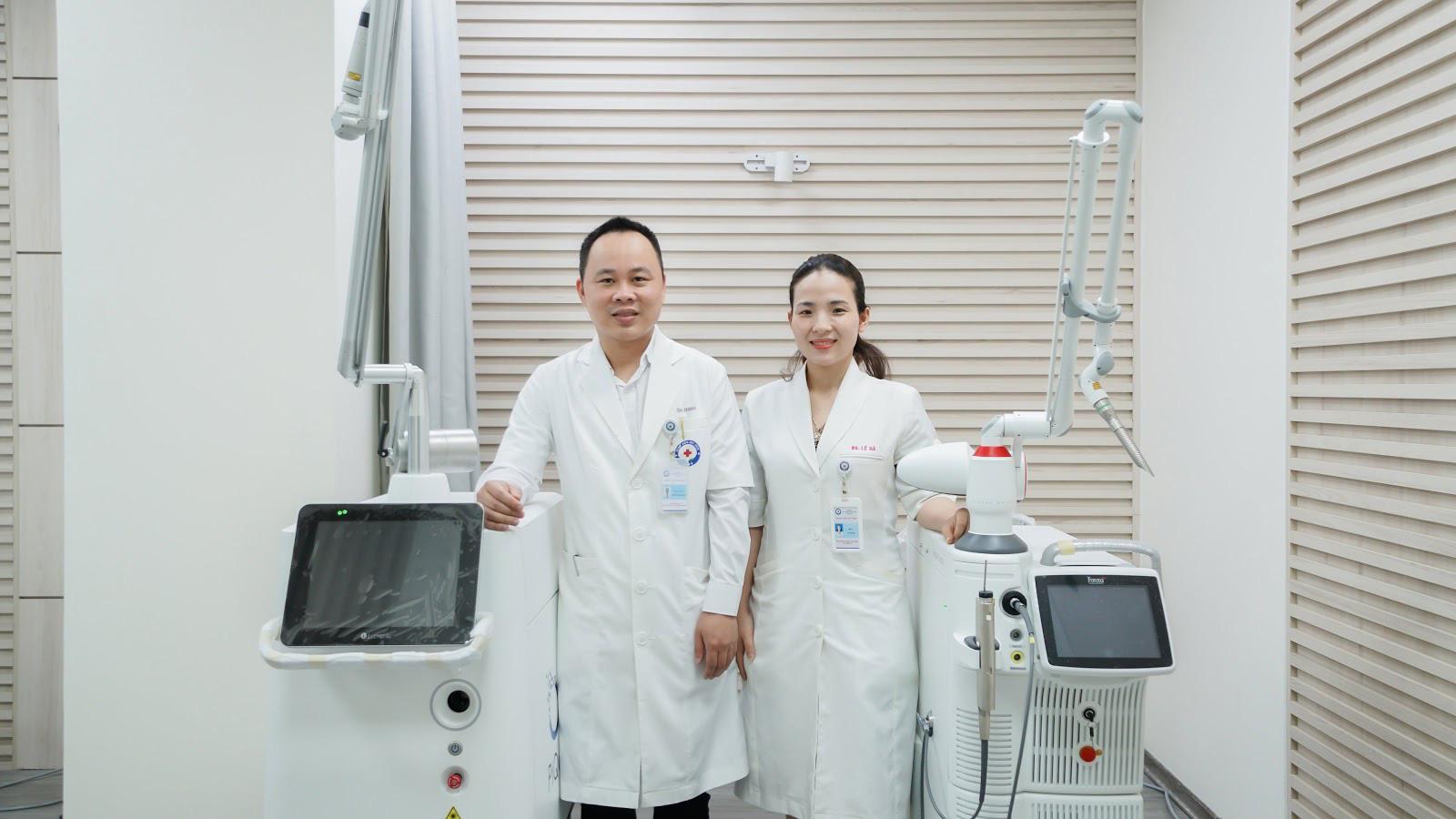 Khoa Phẫu thuật Tạo hình và Thẩm mỹ - Bệnh viện Bưu điện triển khai Phòng thẩm mỹ da công nghệ cao - Ảnh 4.