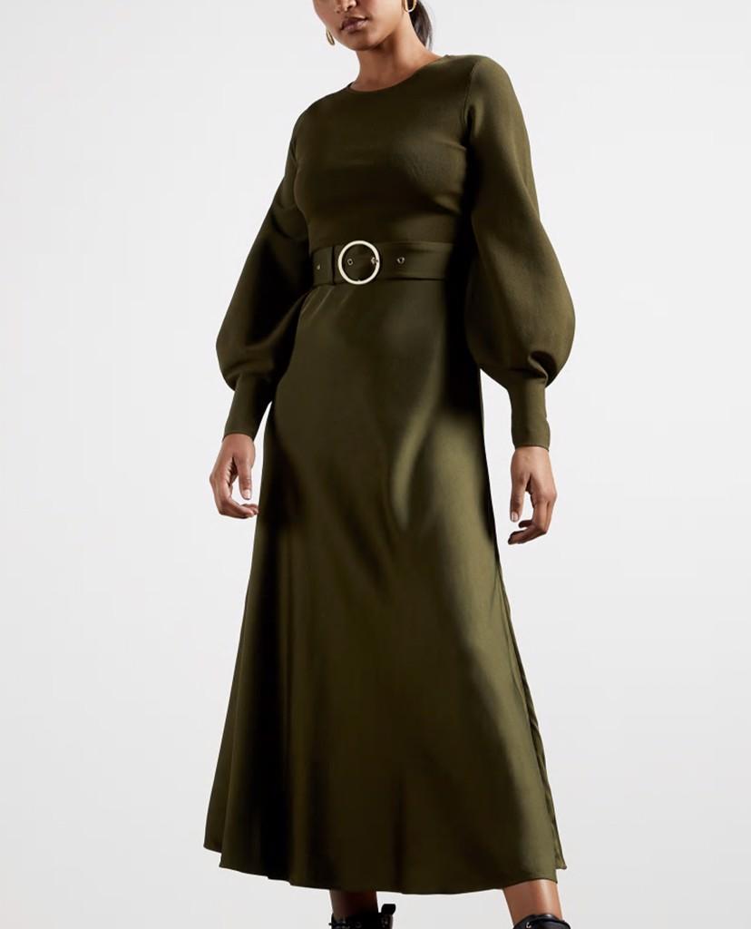 """Bóc giá chiếc váy bị chê """"dính phân chim"""" của Meghan Markle: Hàng hiệu giá 108 triệu, """"hack dáng"""" cực đỉnh cho bà bầu! - Ảnh 6."""