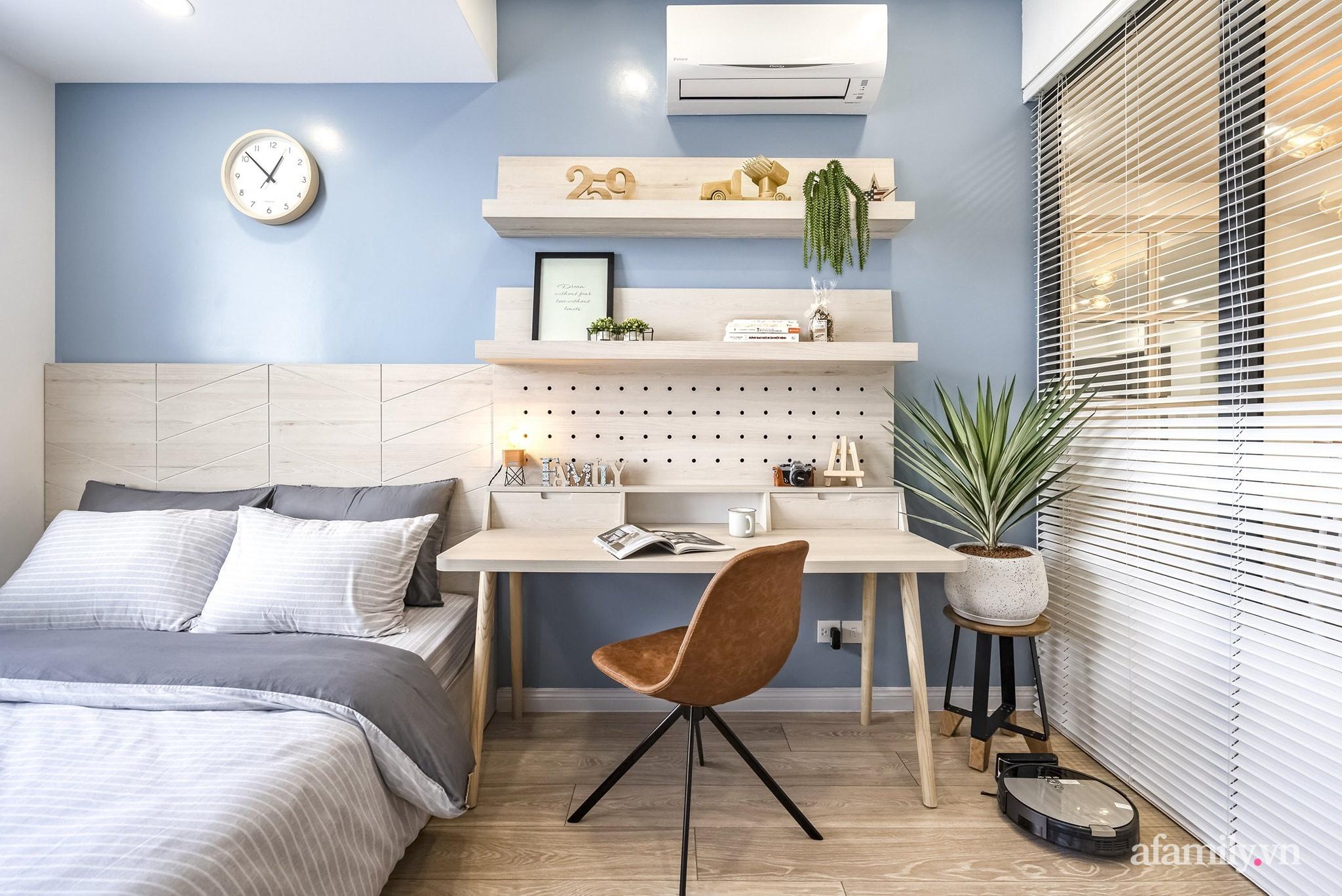 Căn hộ 65m² màu xanh yên bình của chàng trai quyết tâm mua nhà trước tuổi 30 ở Sài Gòn - Ảnh 11.