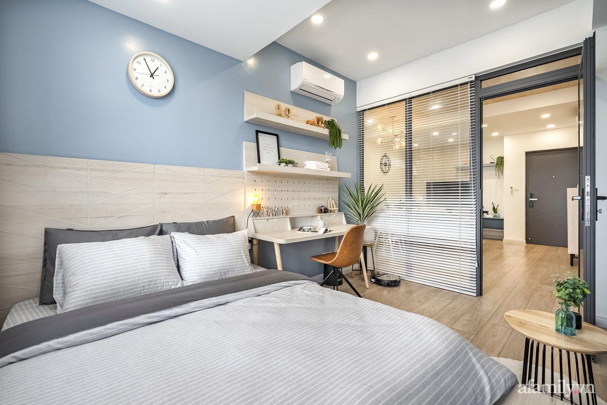 Căn hộ 65m² màu xanh yên bình của chàng trai quyết tâm mua nhà trước tuổi 30 ở Sài Gòn - Ảnh 12.