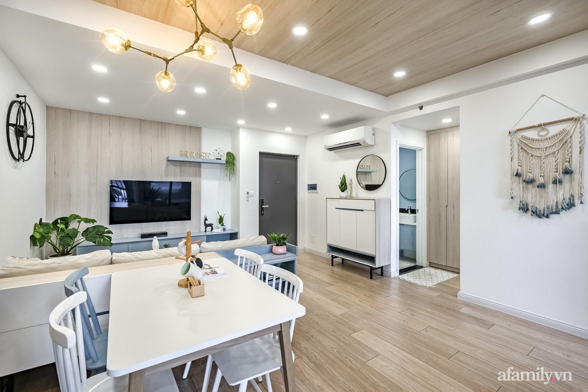 Căn hộ 65m² màu xanh yên bình của chàng trai quyết tâm mua nhà trước tuổi 30 ở Sài Gòn - Ảnh 3.
