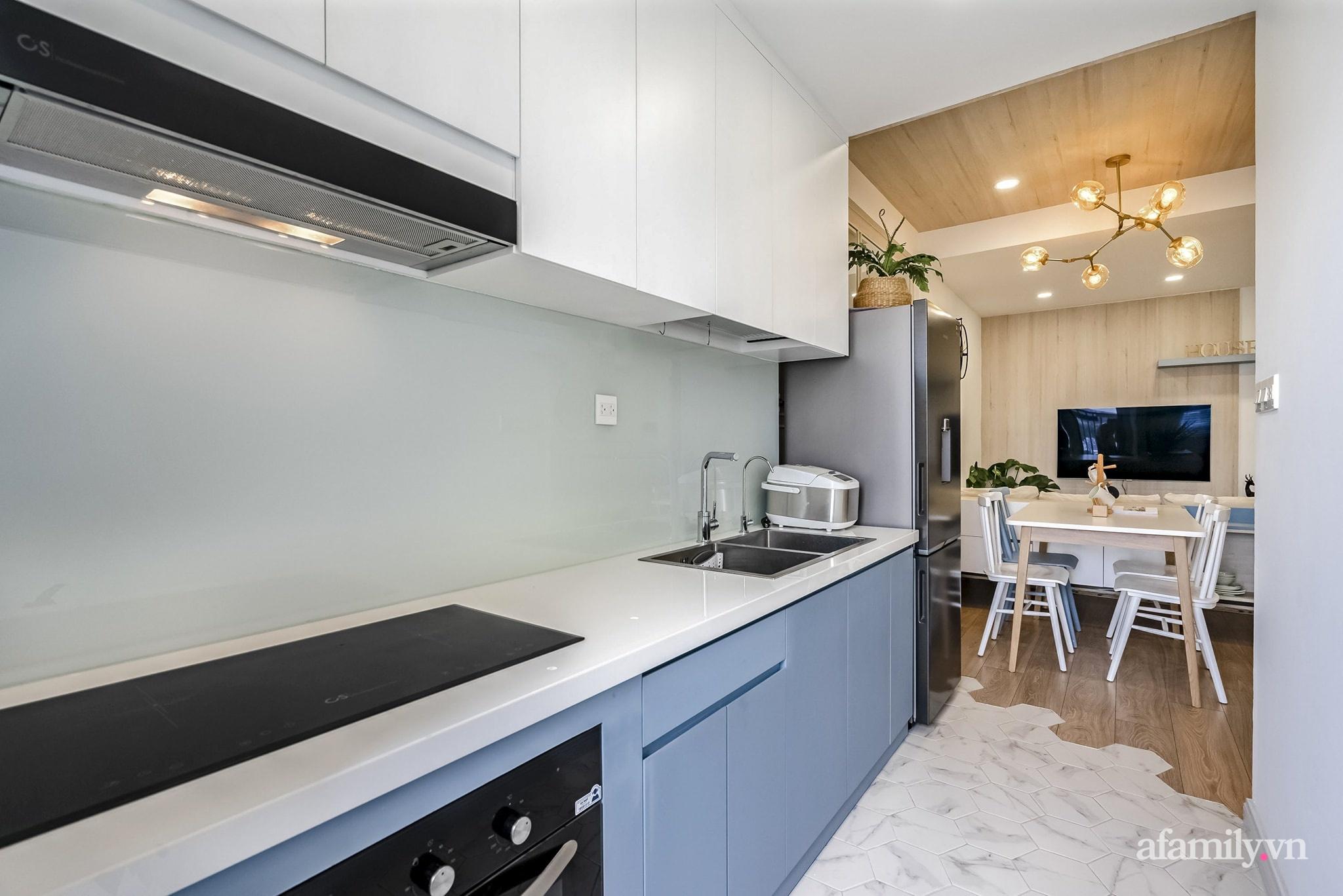 Căn hộ 65m² màu xanh yên bình của chàng trai quyết tâm mua nhà trước tuổi 30 ở Sài Gòn - Ảnh 9.