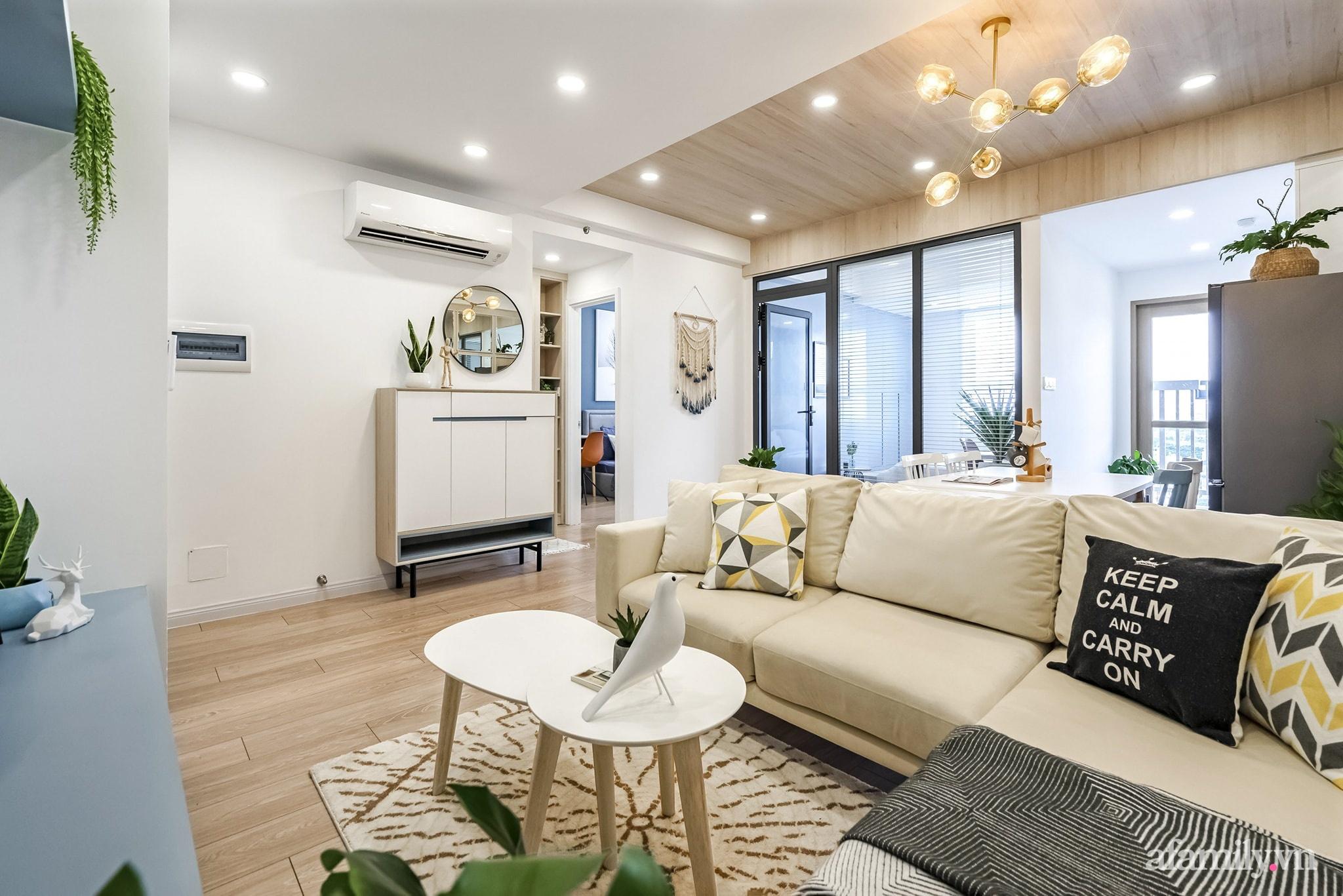 Căn hộ 65m² màu xanh yên bình của chàng trai quyết tâm mua nhà trước tuổi 30 ở Sài Gòn - Ảnh 4.