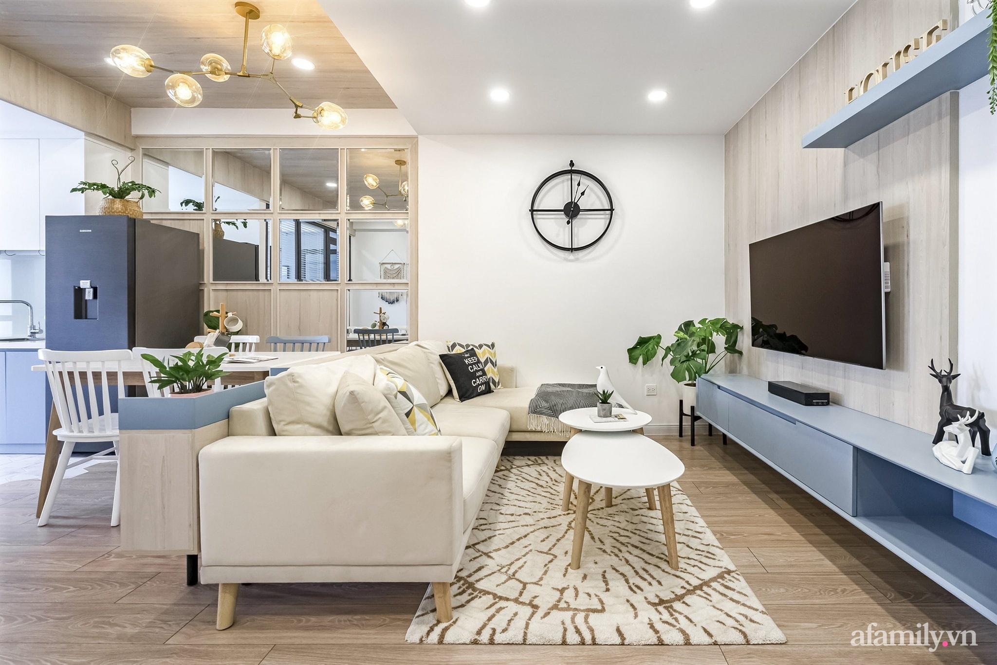 Căn hộ 65m² màu xanh yên bình của chàng trai quyết tâm mua nhà trước tuổi 30 ở Sài Gòn - Ảnh 5.