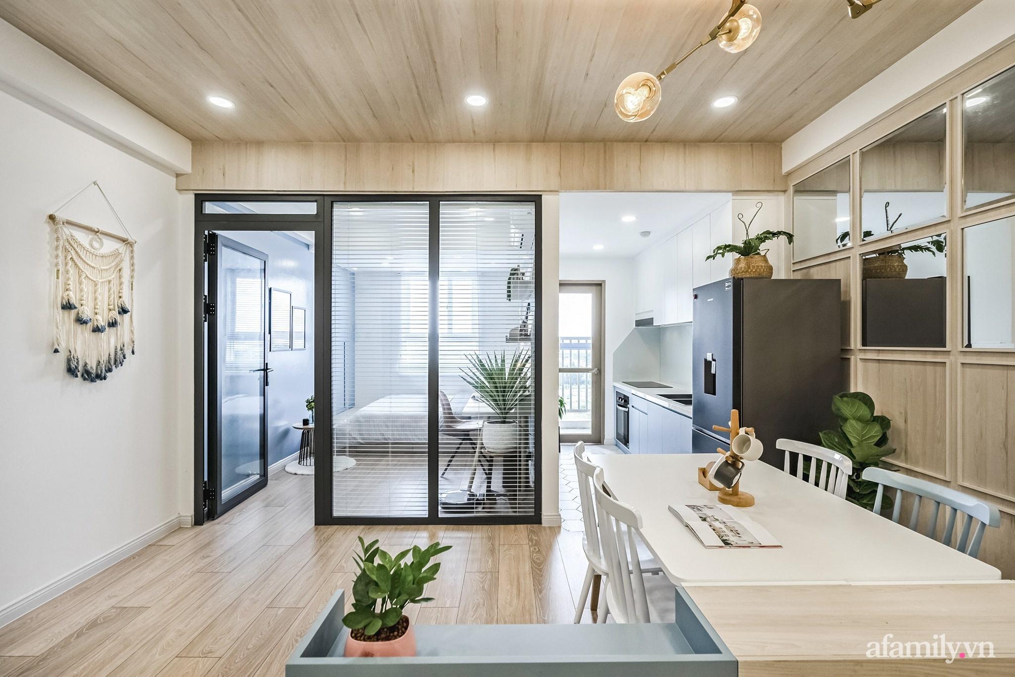 Căn hộ 65m² màu xanh yên bình của chàng trai quyết tâm mua nhà trước tuổi 30 ở Sài Gòn - Ảnh 8.