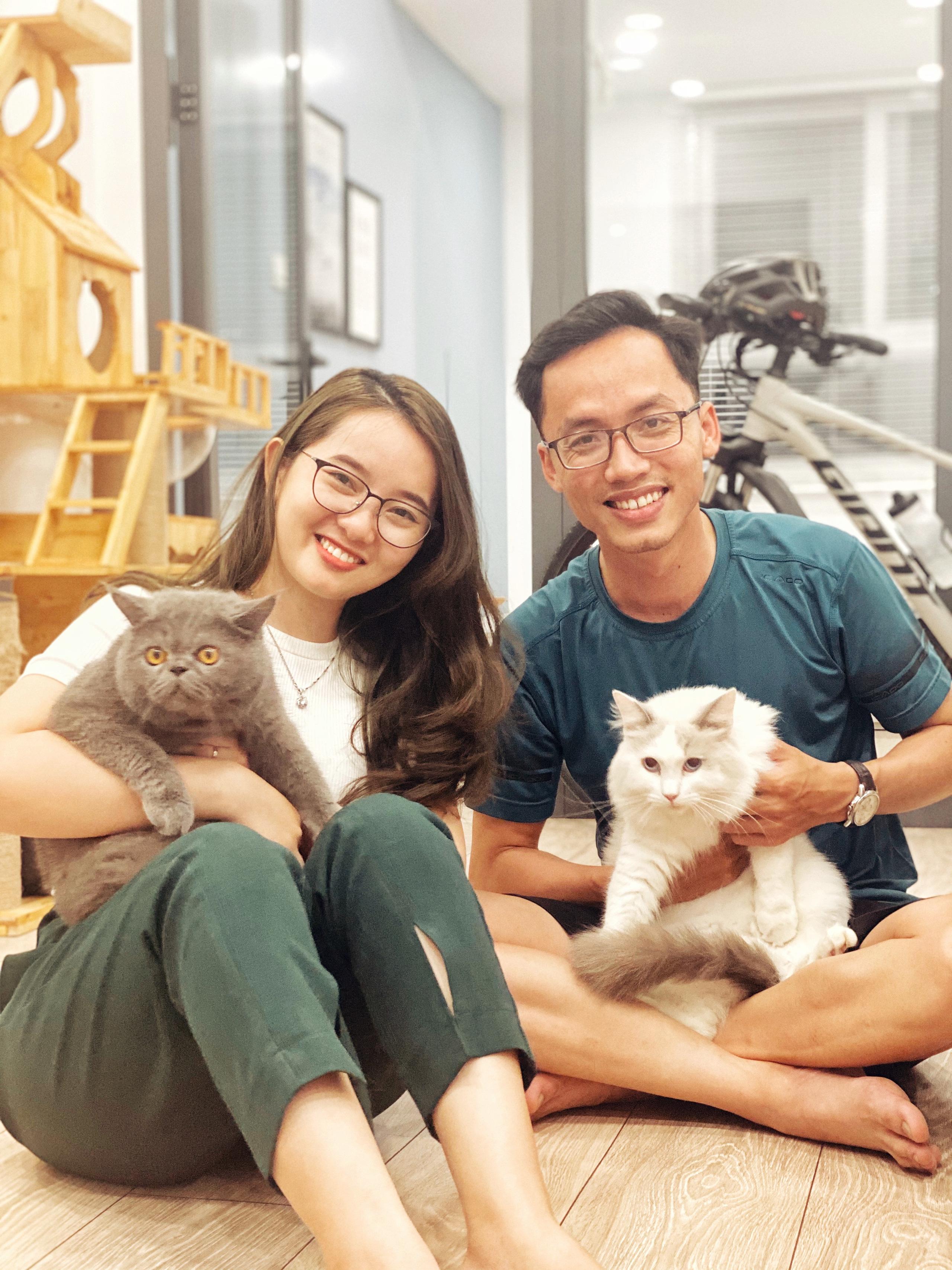 Căn hộ 65m² màu xanh yên bình của chàng trai quyết tâm mua nhà trước tuổi 30 ở Sài Gòn - Ảnh 2.