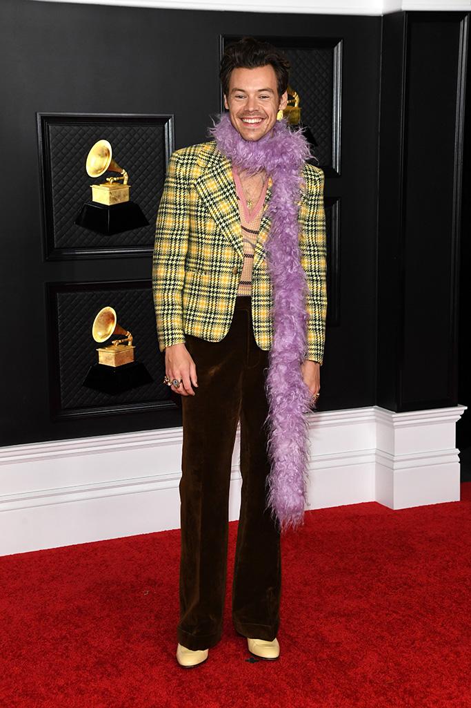 """6 pha ăn mặc như """"tấu hài"""" tại Grammy 2021: Bộ đầm kéo tận rốn lộ gần hết vòng 1 chưa là gì khi có người bê nguyên bộ xương di động lên thảm đỏ - Ảnh 15."""