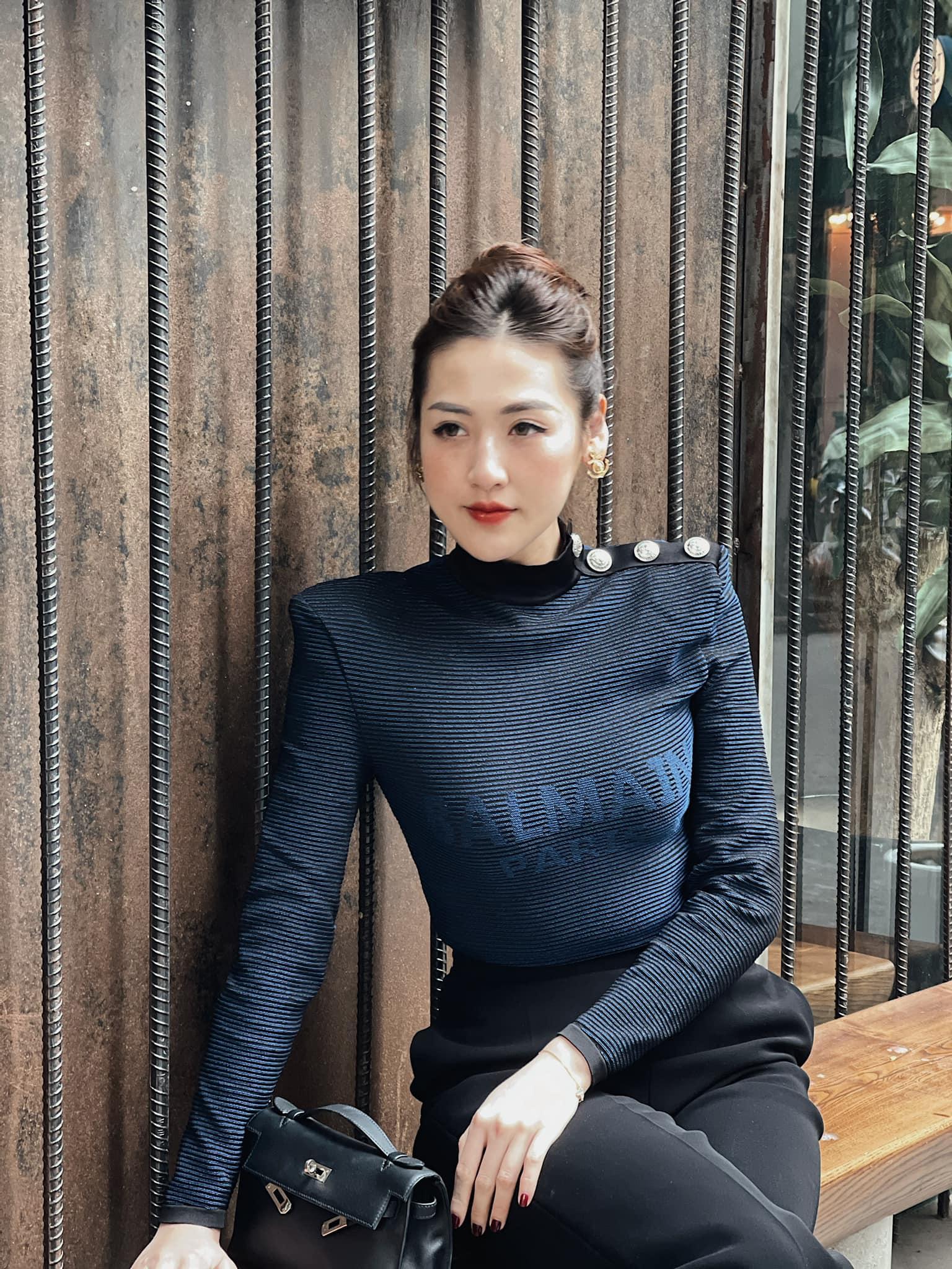 Nhìn Á hậu Tú Anh lên đồ công sở đẹp mê, chị em tăm tia ngay được 10 set siêu xinh diện đi làm - Ảnh 4.