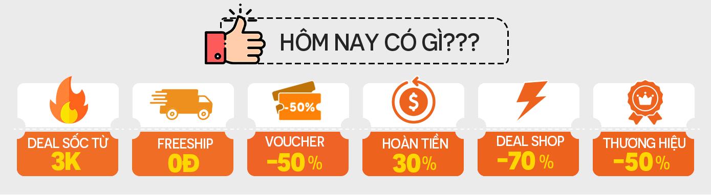 Vợt deal nhanh cho bạn chỉ tới 19/3, các thương hiệu lớn giảm tới 50%, deal sốc chỉ còn 3k và chuỗi quà tặng giá 0 đồng - Ảnh 3.