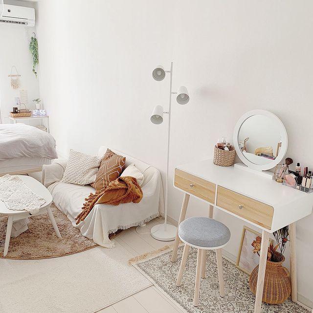 """Tự sắp xếp đồ đạc, cô gái nhỏ """"hô  biến"""" phòng trọ theo phong cách Bắc Âu tài tình chỉ với những món đồ nội thất giá rẻ - Ảnh 4."""