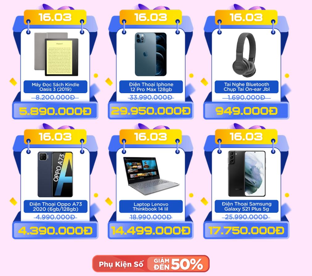 Sale sinh nhật tưng bừng ngày cuối tháng, săn ngay các thương hiệu lớn giảm tới 70%, deal sốc chỉ còn 3k và chuỗi quà tặng giá 0 đồng - Ảnh 11.