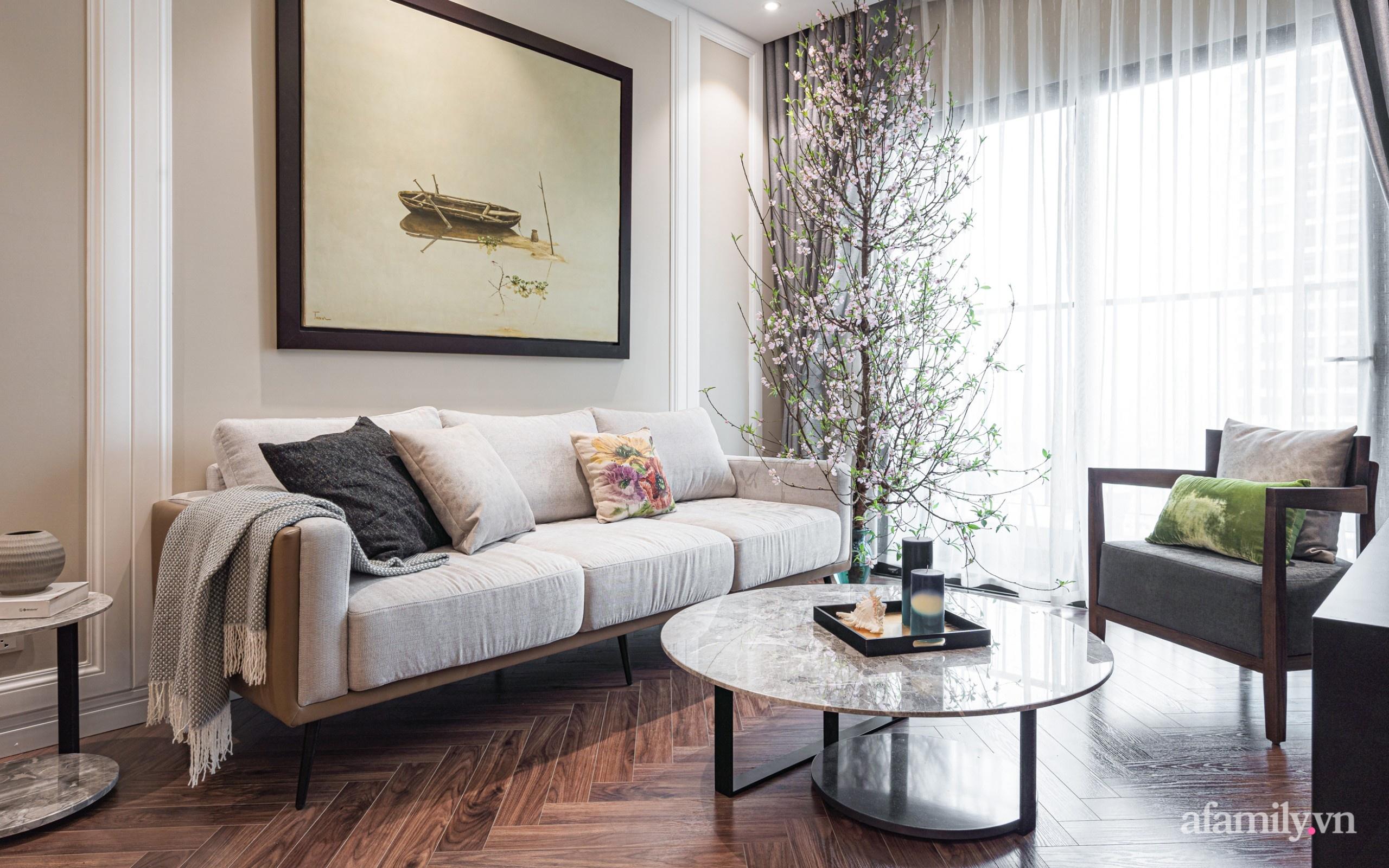 Căn hộ 110m² đẹp sang trọng và đẳng cấp đến từng chi tiết ở Nguyễn Trãi, Hà Nội - Ảnh 4.