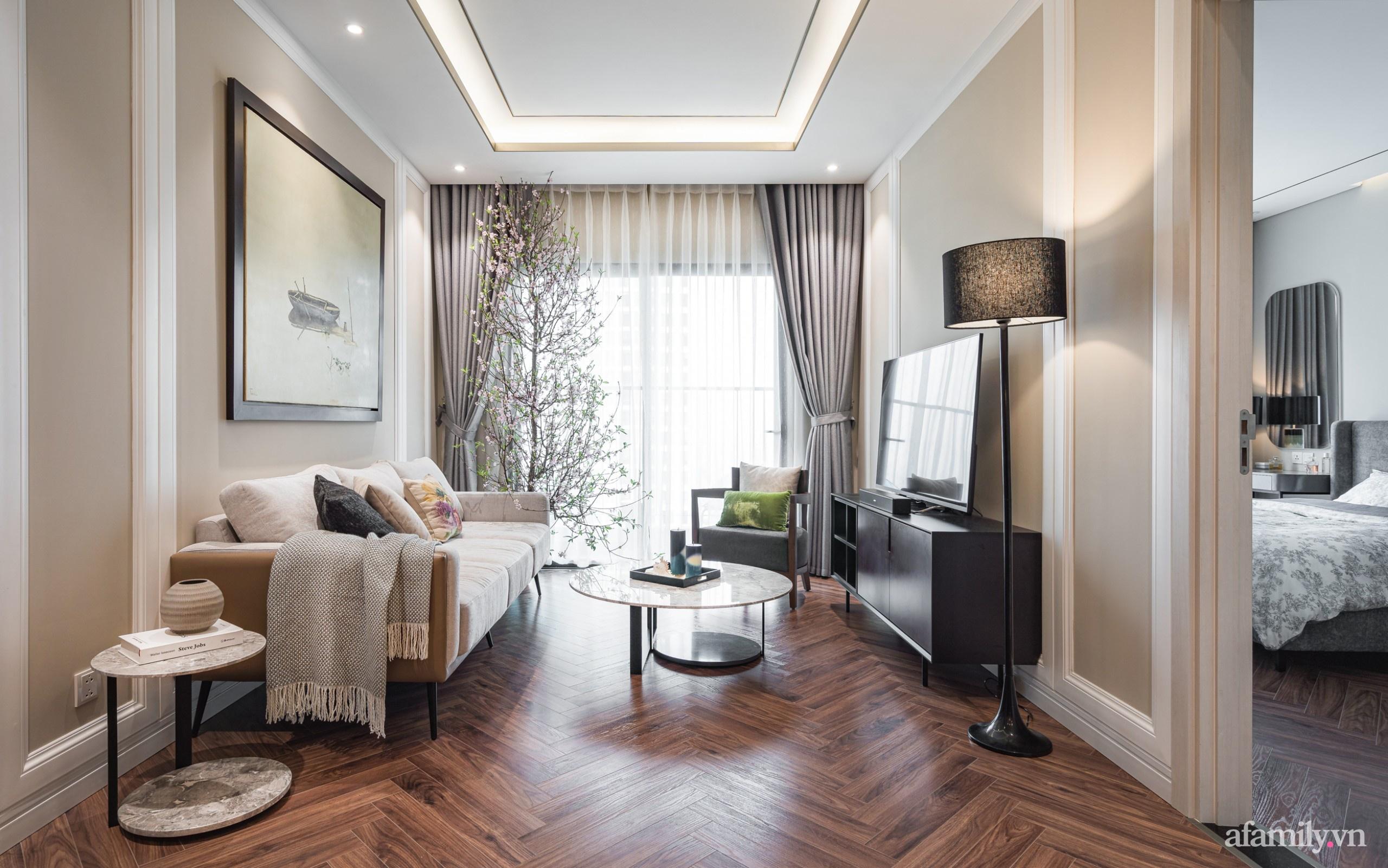 Căn hộ 110m² đẹp sang trọng và đẳng cấp đến từng chi tiết ở Nguyễn Trãi, Hà Nội - Ảnh 1.