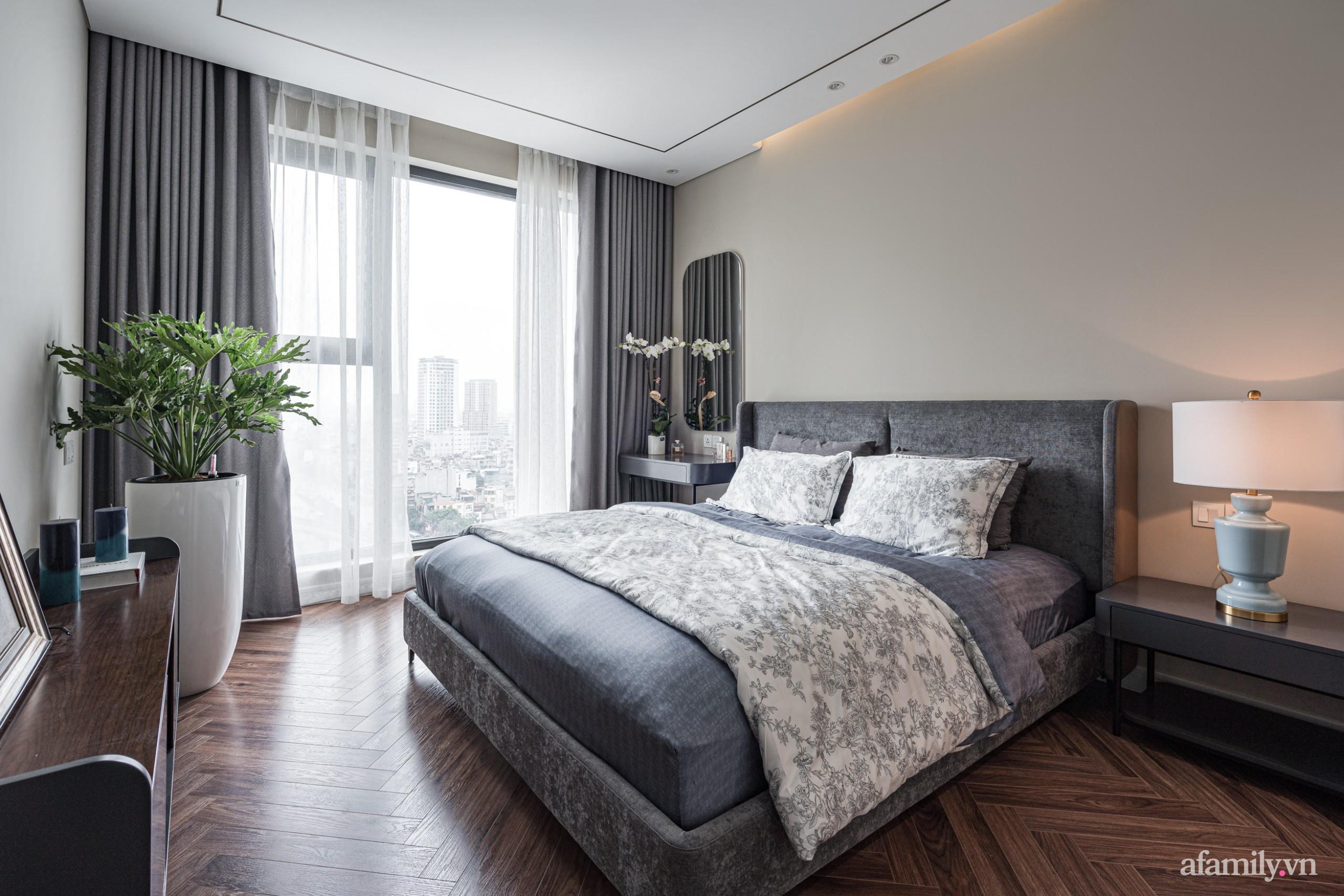 Căn hộ 110m² đẹp sang trọng và đẳng cấp đến từng chi tiết ở Nguyễn Trãi, Hà Nội - Ảnh 13.