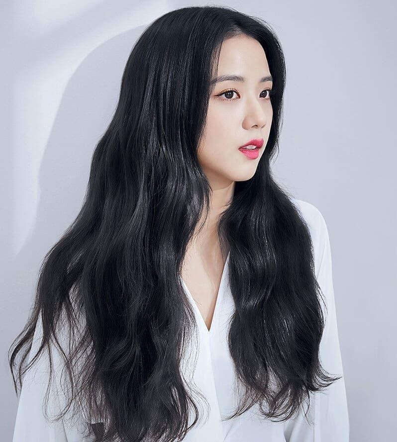 """Đẳng cấp của idol đẹp như Hoa hậu: Jisoo chứng minh khả năng """"cân"""" được mọi màu tóc, từ basic đến khó chiều - Ảnh 12."""