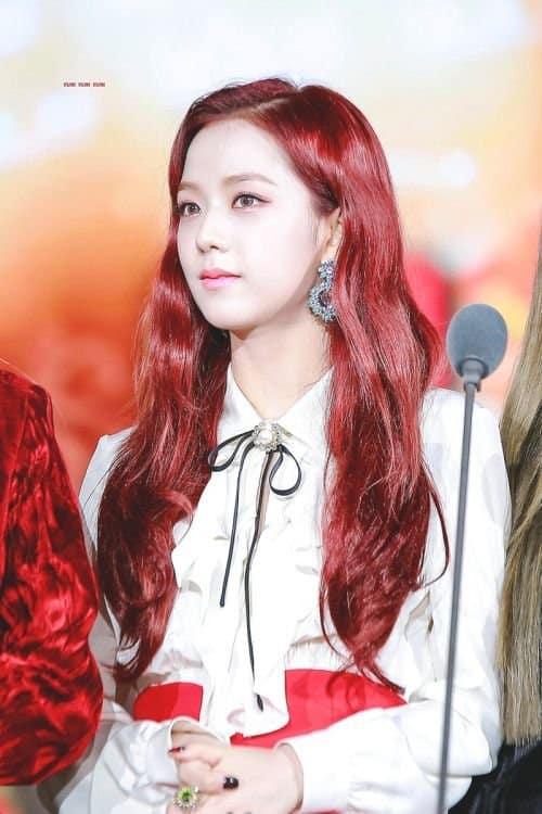 """Đẳng cấp của idol đẹp như Hoa hậu: Jisoo chứng minh khả năng """"cân"""" được mọi màu tóc, từ basic đến khó chiều - Ảnh 6."""