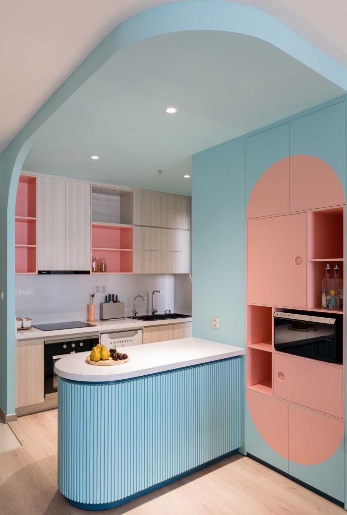 Căn hộ chỉ 89m² đẹp cá tính và năng động với hình khối và color block - Ảnh 7.
