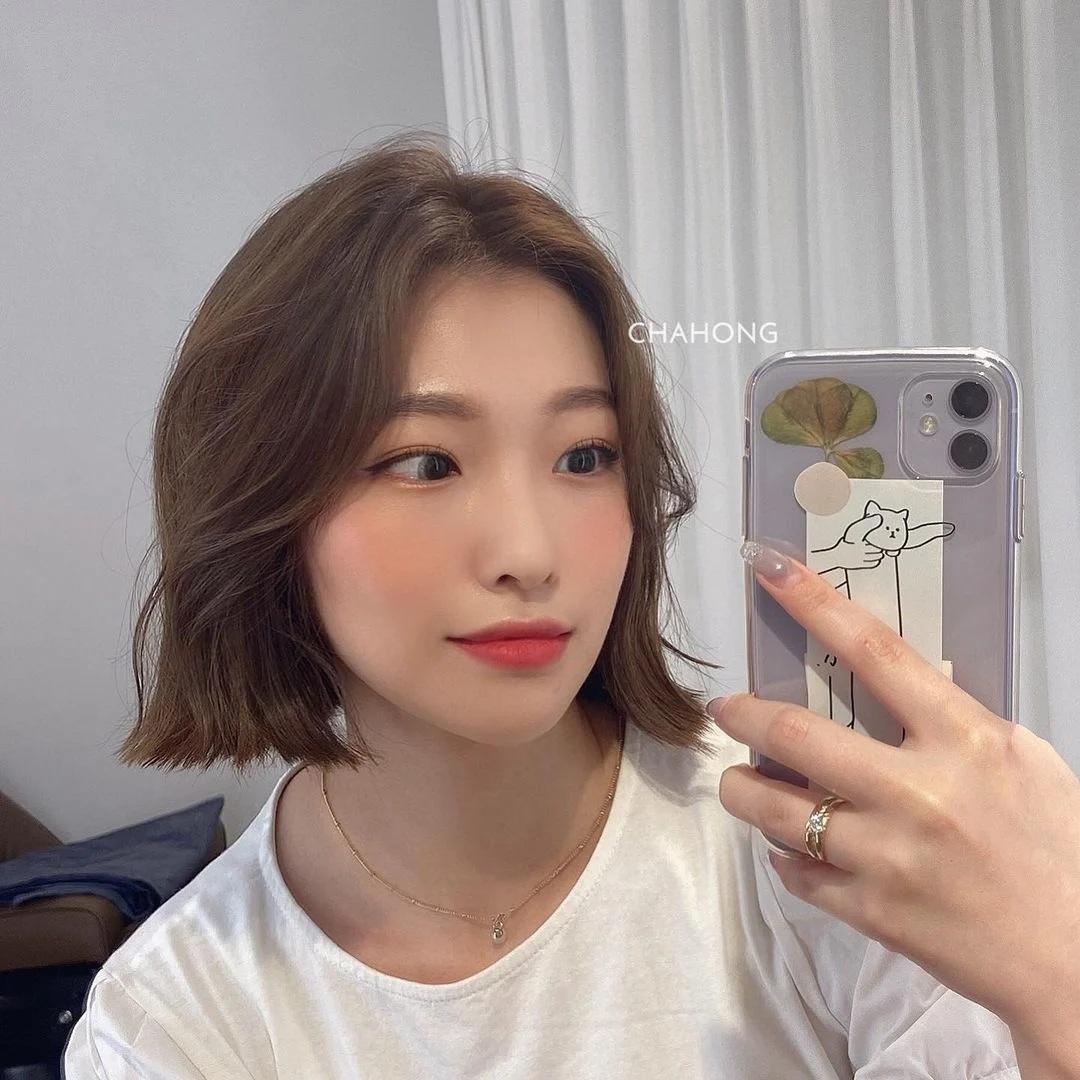 Nàng mặt tròn muốn cắt tóc ngắn thì phải chú ý đến điểm này - Ảnh 7.