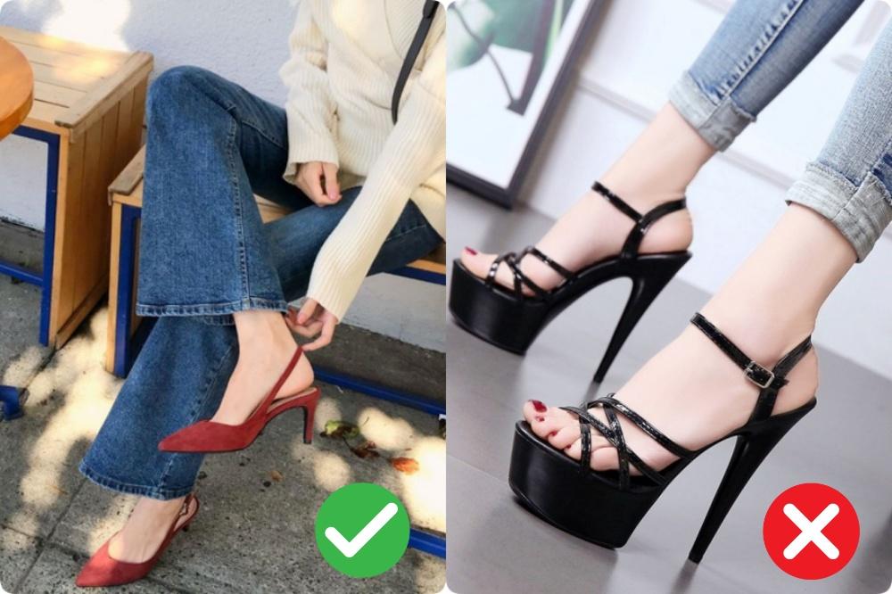 giày bệt cho nang chân ngắn - Ảnh 6.