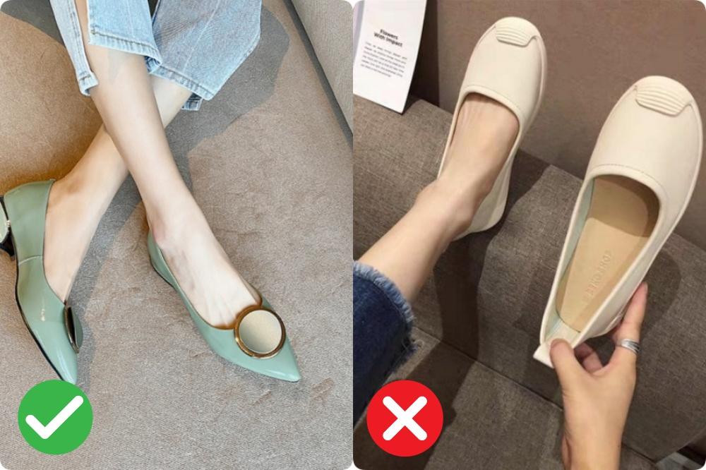giày bệt cho nang chân ngắn - Ảnh 2.