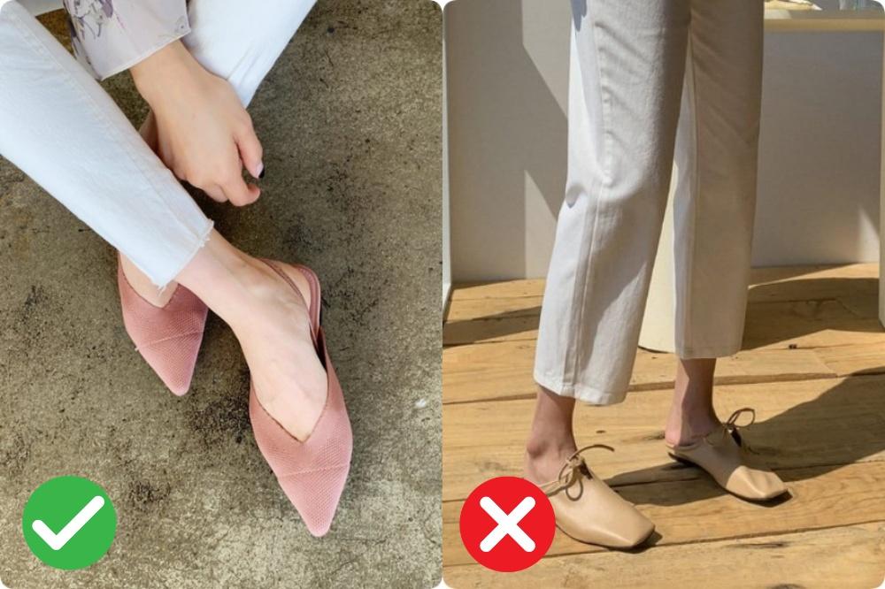 giày bệt cho nang chân ngắn - Ảnh 3.
