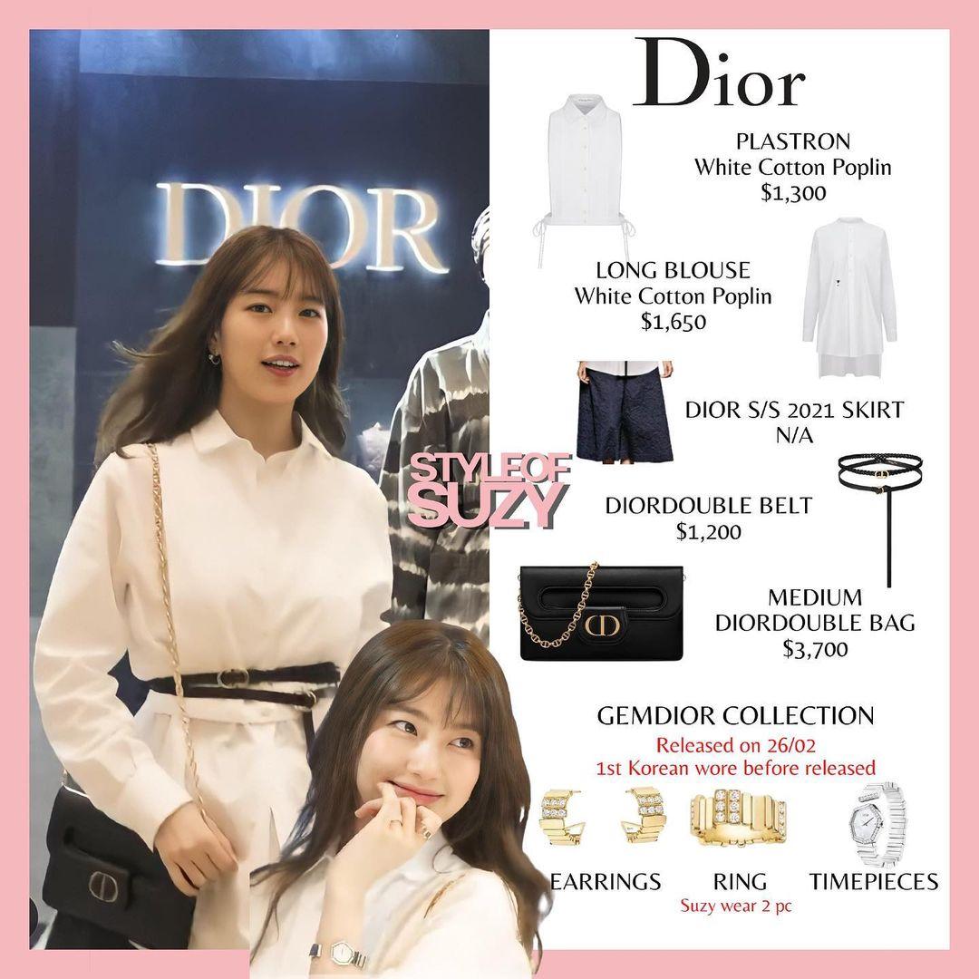"""Vượt mặt Jisoo, Suzy mới là sao Hàn được Dior ưu ái đến độ đặc biệt """"độc nhất vô nhị"""" như thế này - Ảnh 3."""