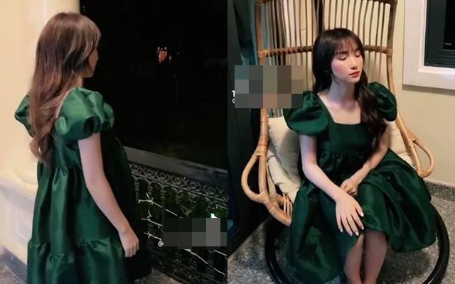 Nghi vấn Hòa Minzy mang thai lần 2 khi mặc váy rộng thùng thình như muốn che bụng bầu