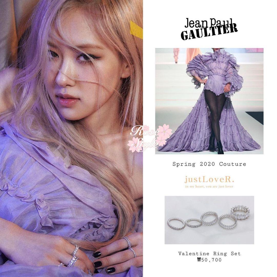Stylist bạo tay cắt váy Haute Couture để Rosé khoe trọn vai trần, netizen rần rần: Ai làm lại chị? - Ảnh 3.