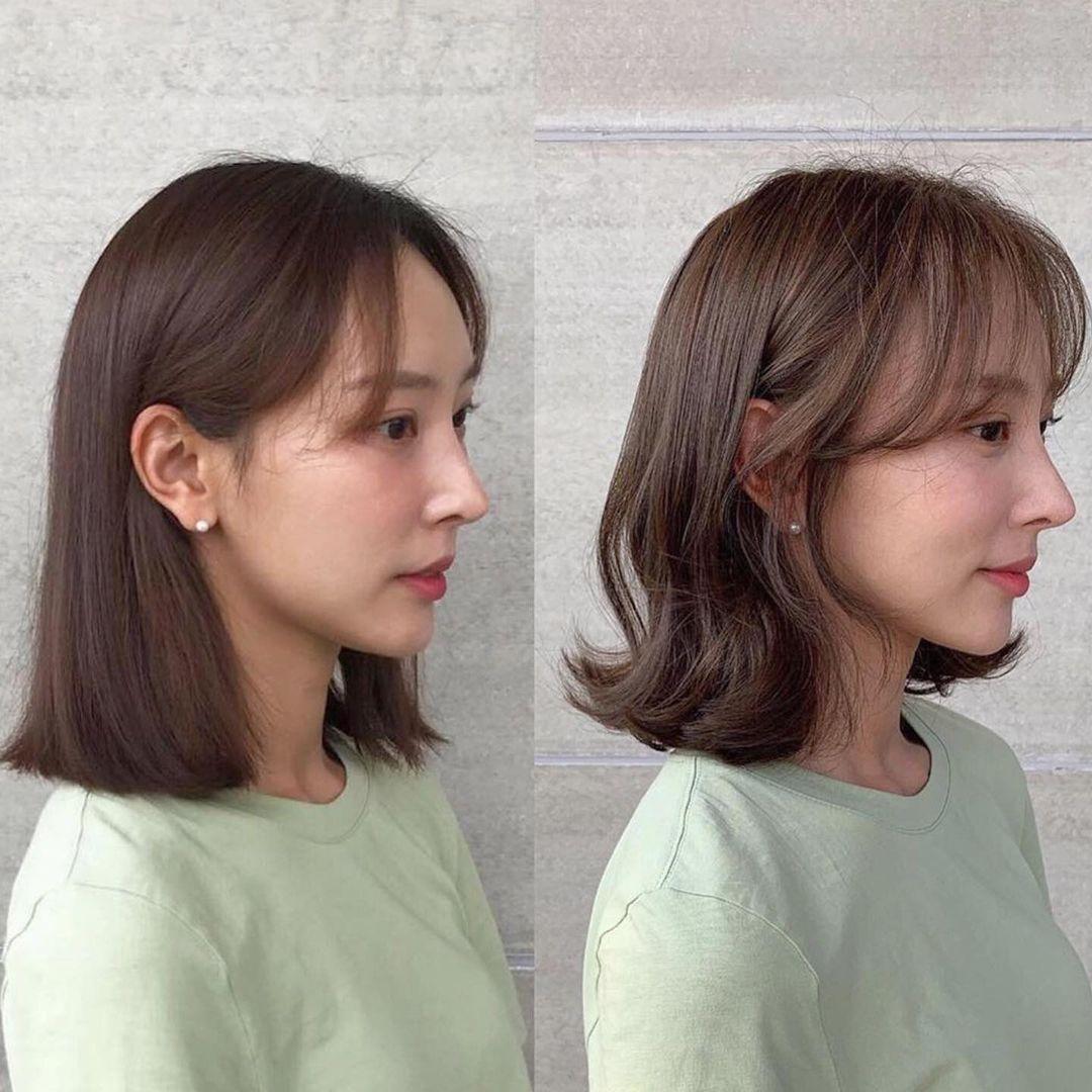 Có một kiểu tóc mái vừa che mặt bánh bao vừa tạo góc nghiêng xuất thần - Ảnh 6.