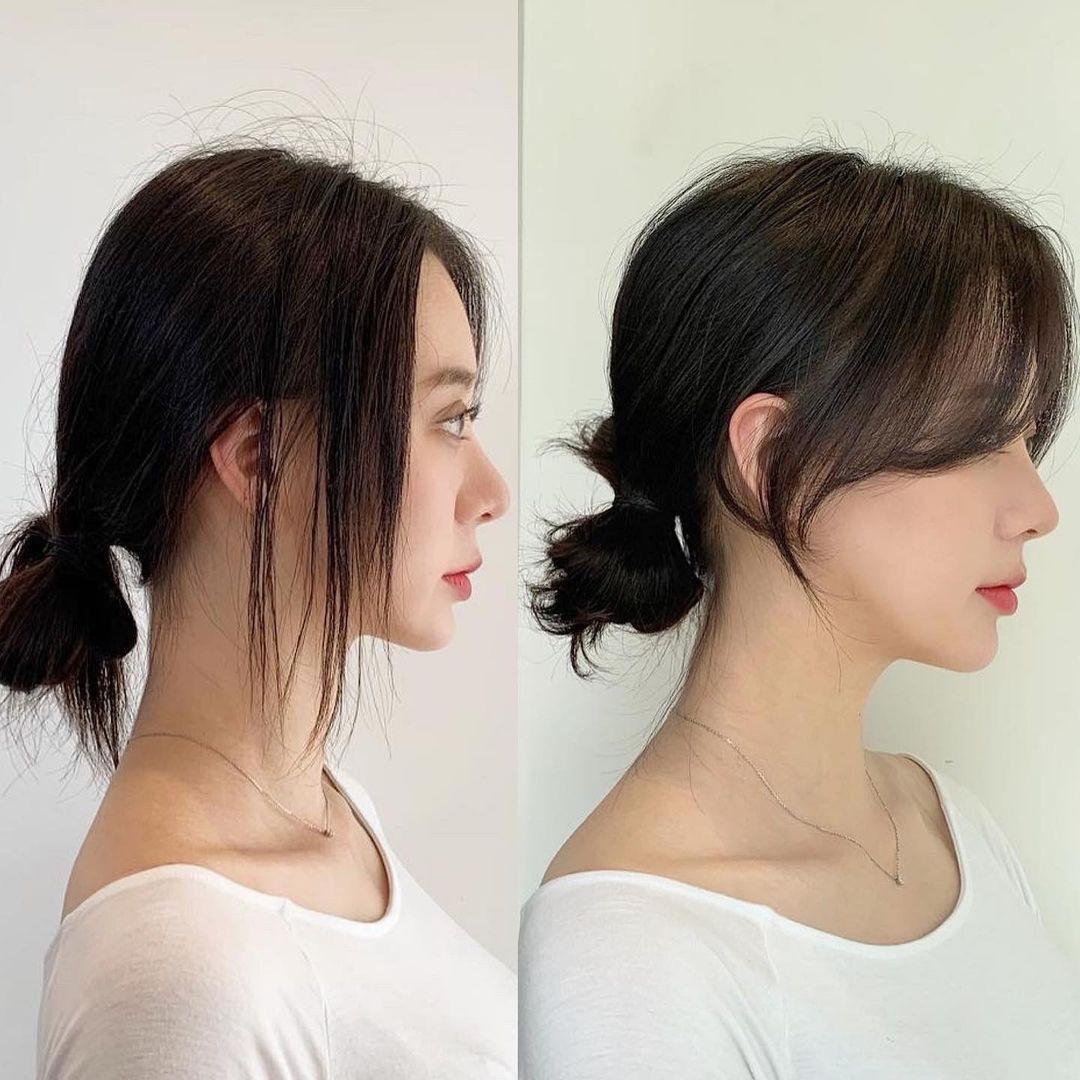 Có một kiểu tóc mái vừa che mặt bánh bao vừa tạo góc nghiêng xuất thần - Ảnh 5.