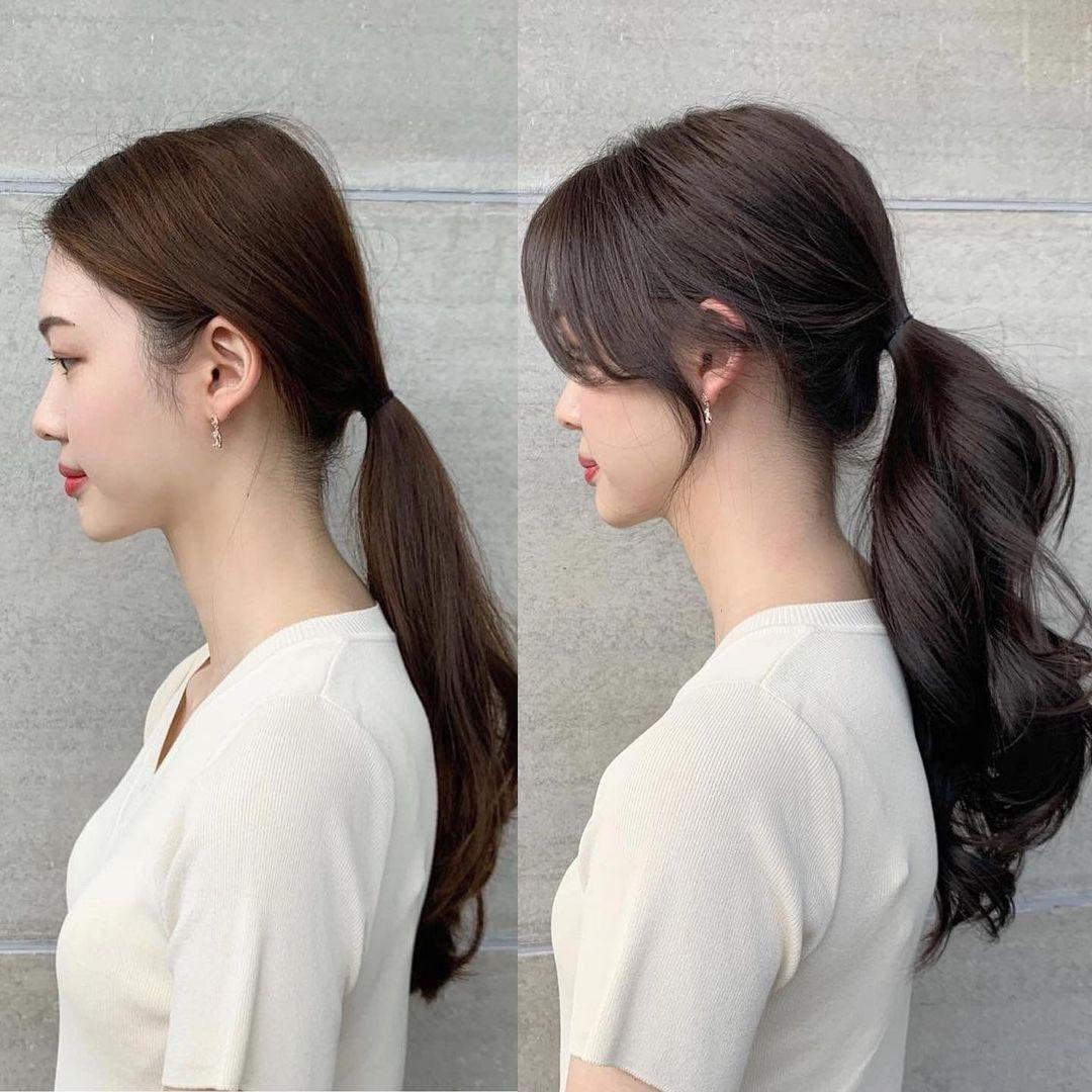 Có một kiểu tóc mái vừa che mặt to, hạ gò má cao vừa tạo góc nghiêng mềm mại, nàng nào để cũng xinh xuất sắc - Ảnh 5.